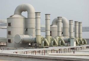 实验室废气处理—活性炭过滤装置 废气喷淋搭 PP洗涤塔
