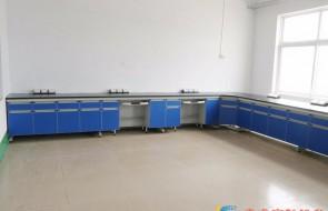 实验室家具—实验台PP边台(满柜)SR3017