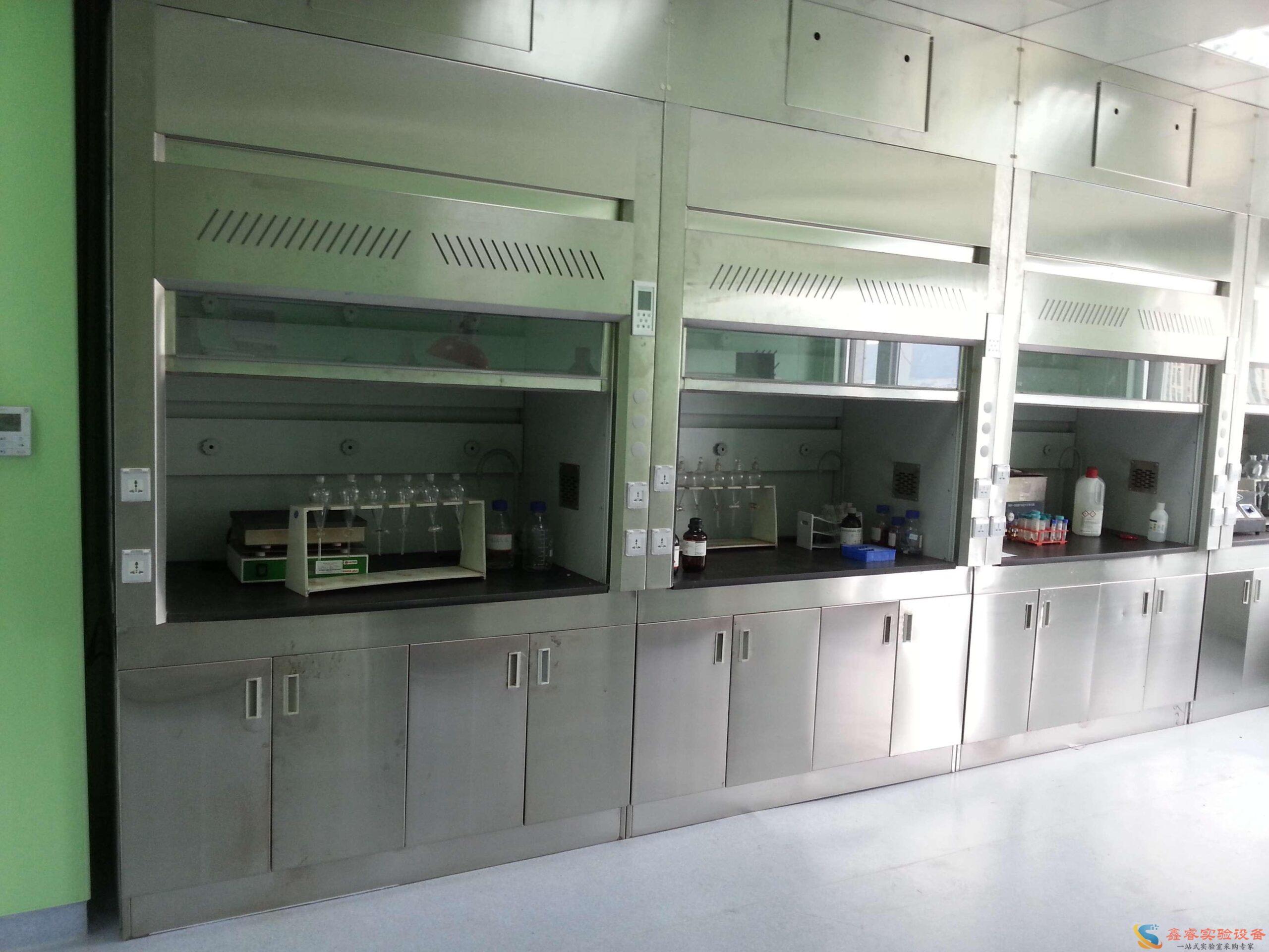 实验室不锈钢通风柜说明,实验室通风柜定制